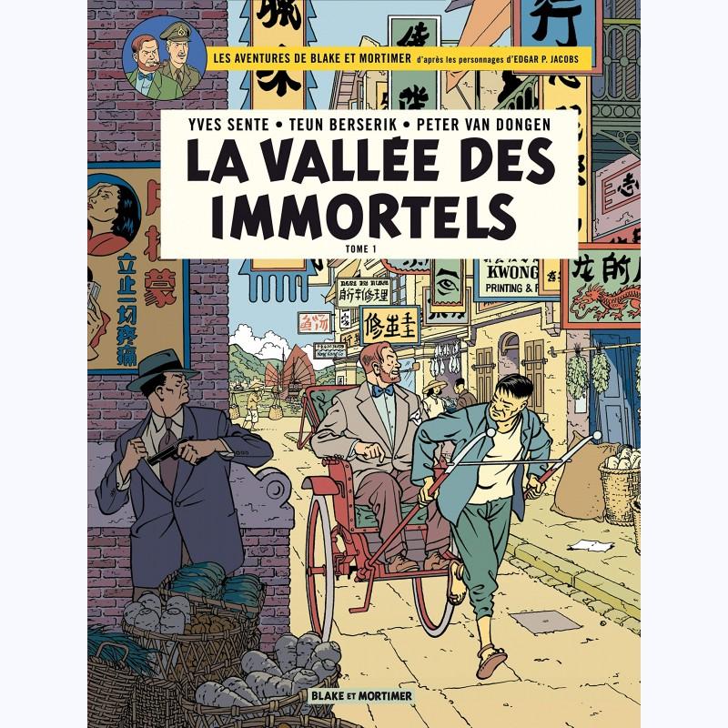 Blake et Mortimer Tome 25, La Vallée des Immortels (1