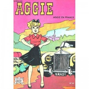 Aggie : Tome 30, Aggie en France