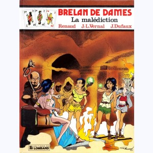 Brelan de dames : Tome 5, La malédiction