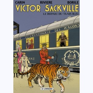 Victor Sackville : Tome 21, Le Disparu du Train Bleu