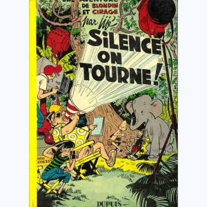 Blondin et Cirage : Tome 8, Silence on tourne !