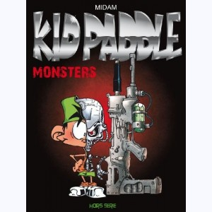 Kid Paddle, Monsters