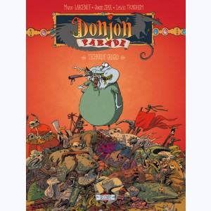 Donjon Parade : Tome 5, Technique Grogro