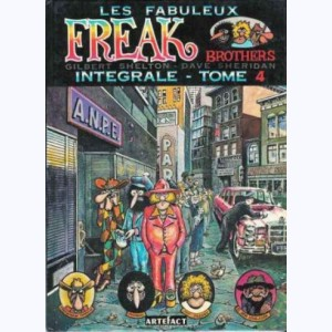 18 : Les Freak Brothers : Tome 4, Intégrale