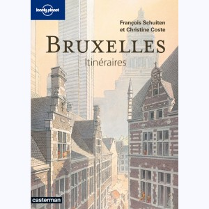 Lonely Planet, Bruxelles, Itinéraires