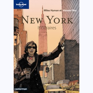 Lonely Planet, New-York, Itinéraires