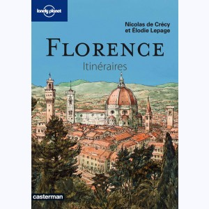 Lonely Planet, Florence, Itinéraires