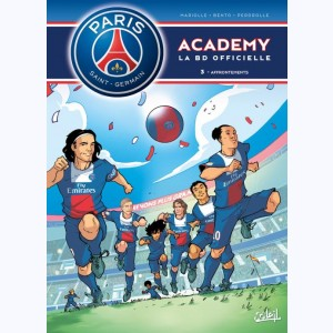 PSG Academy : Tome 3, Affrontements