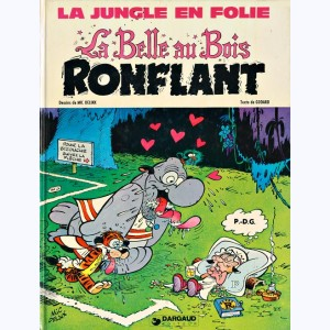 La Jungle en folie : Tome 8, La Belle au Bois ronflant