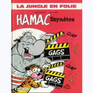La Jungle en folie : Tome 14, Hamac Saynètes