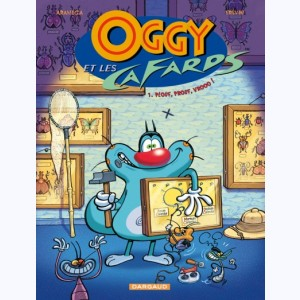 Oggy et les Cafards : Tome 1, Plouf, prouf, vrooo !
