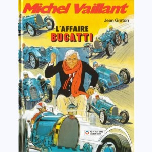 Michel Vaillant : Tome 54, L'Affaire Bugatti :
