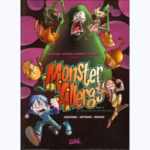 Monster Allergy : Tome 2, La pyramides des invulnérables :