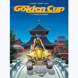 Golden Cup : Tome 5, Le baiser du Dragon