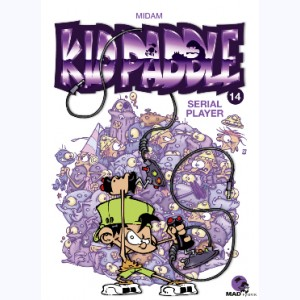 Kid Paddle : Tome 14, Serial Player