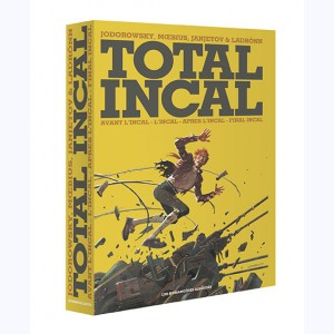 Total Incal, Coffret : L'Incal, Avant L'incal, Final Incal et Après L'Incal