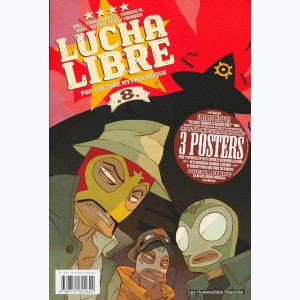 Lucha Libre : Tome 8, Pop-culture mythologique