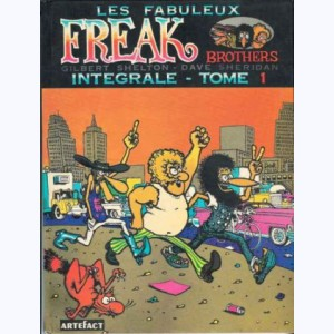 12 : Les Freak Brothers : Tome 1, Intégrale