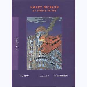 Harry Dickson : Tome 8, Le temple de fer