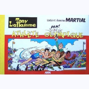 Tony Laflamme : Tome 2, Athlète olympique