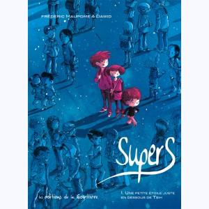 SuperS de Dawid et Maupomé chez Edition de la Gouttière