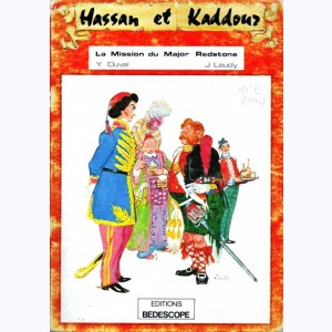 Hassan et Kaddour : Tome 2, La mission du Major Redstone