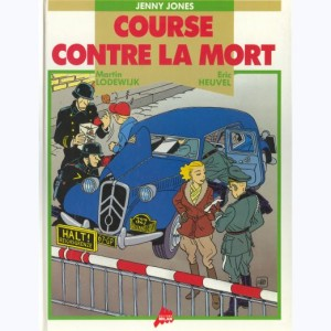 Jennifer Jones : Tome 1, Jenny Jones - Course contre la mort