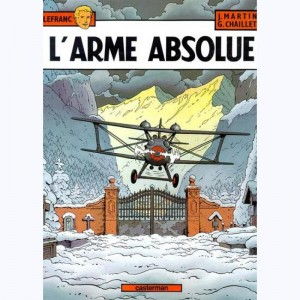 Lefranc : Tome 8, L'arme absolue