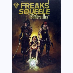 Freaks' Squeele - Funérailles : Tome 2, Pain in black