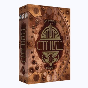 City Hall : Tome (1 à 3), Coffret Saison 1