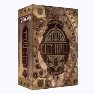 City Hall : Tome (4 à 7), Coffret Saison 2