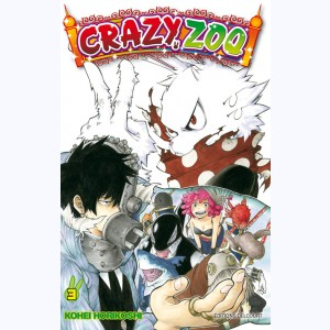 Crazy Zoo : Tome 3