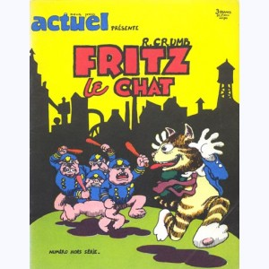 Fritz the cat : Tome 1, Fritz le chat