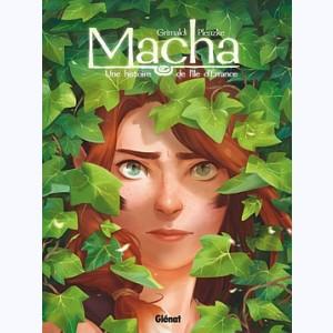 Macha, Une histoire de l'île d'Errance de Grimaldi et Plenzke chez Glénat