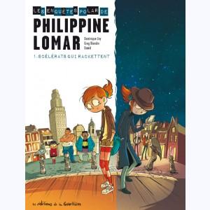Les enquêtes polar de Philippine Lomar T1 de Zay, Dawid et Blondin aux éditions de la gouttière