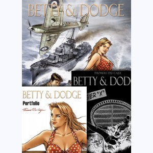 Betty & Dodge, Coffret + Portfolio + Dossier X :
