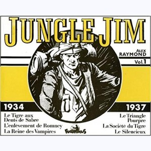 Jungle Jim : Tome 1, 1934 - 1937