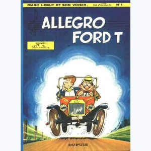Marc Lebut : Tome 1, Allegro ford T