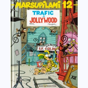 Marsupilami : Tome 12, Trafic à Jollywood :