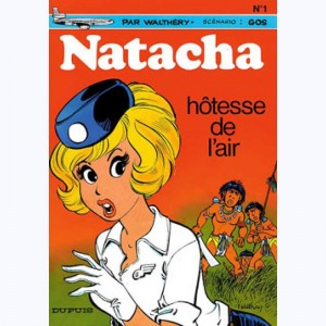Natacha : Tome 1, Hotesse de l'air