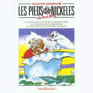 Intégrales Les Pieds Nickelés : Tome 2 (109,110,111)