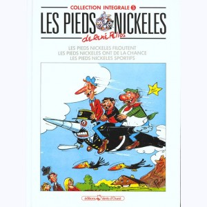 Intégrales Les Pieds Nickelés : Tome 5 (100,101,102)