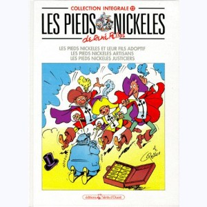 Intégrales Les Pieds Nickelés : Tome 12 (78,80,81)