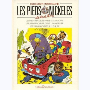 Intégrales Les Pieds Nickelés : Tome 18 (60,61,62)