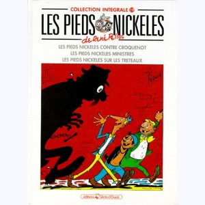 Intégrales Les Pieds Nickelés : Tome 19 (55,56,59)