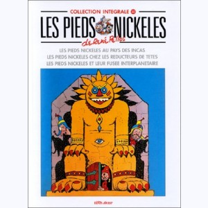 Intégrales Les Pieds Nickelés : Tome 22 (40,42,43)