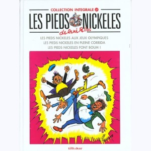 Intégrales Les Pieds Nickelés : Tome 27 (34,35,36)