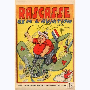 Les extraordinaires aventures de César-Napoléon Rascasse : Tome 5, as de l'aviation