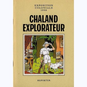 Chaland explorateur, Exposition coloniale 1990