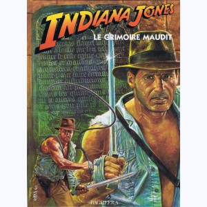 Indiana Jones : Tome 3, Le Grimoire maudit